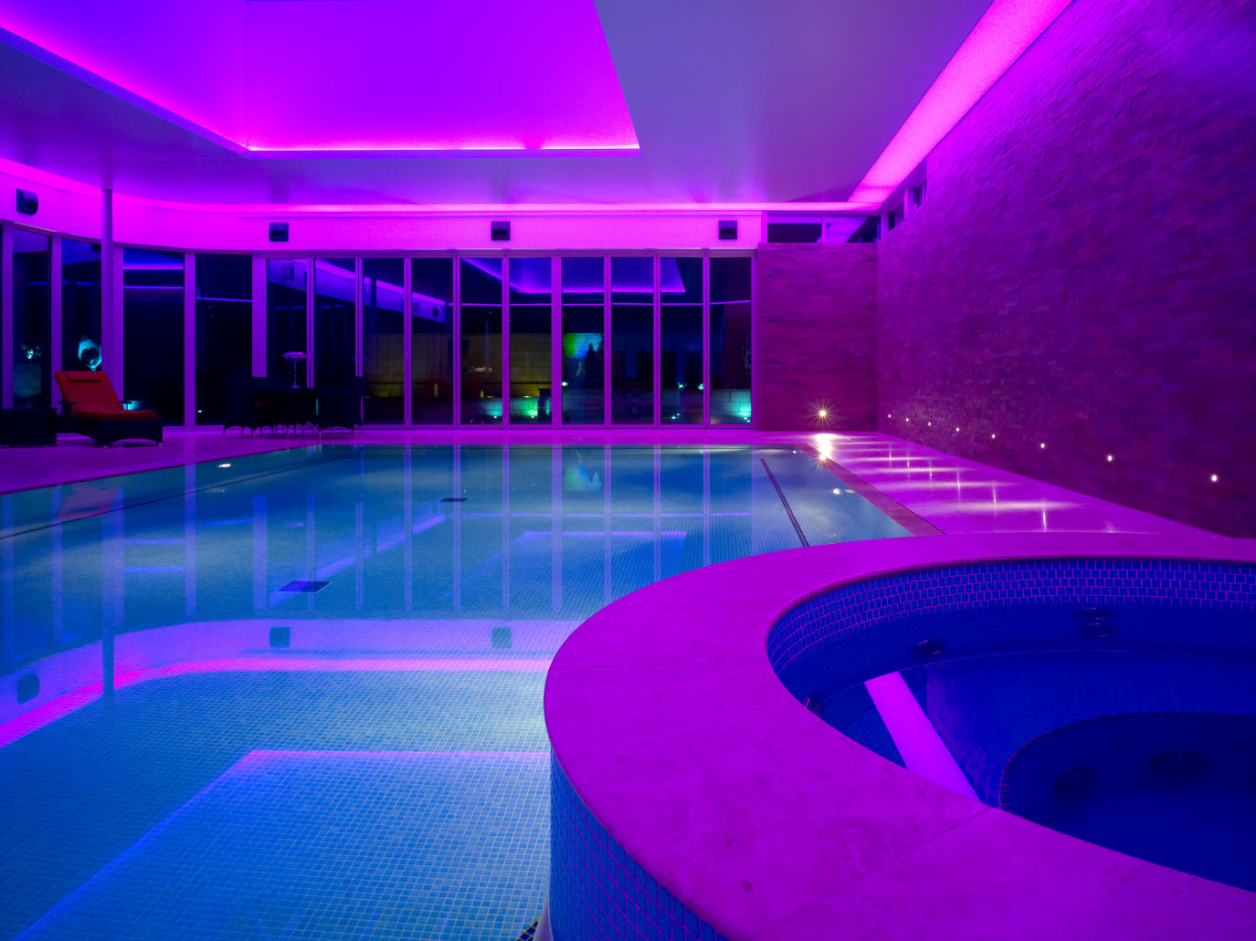 Details About Ac12v 18w 25w Rgb Remote Wall Mounted Swimming Led Pool Lights Ip68 Waterproof