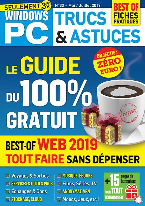 Windows PC Trucs et Astuces - Mai 2019