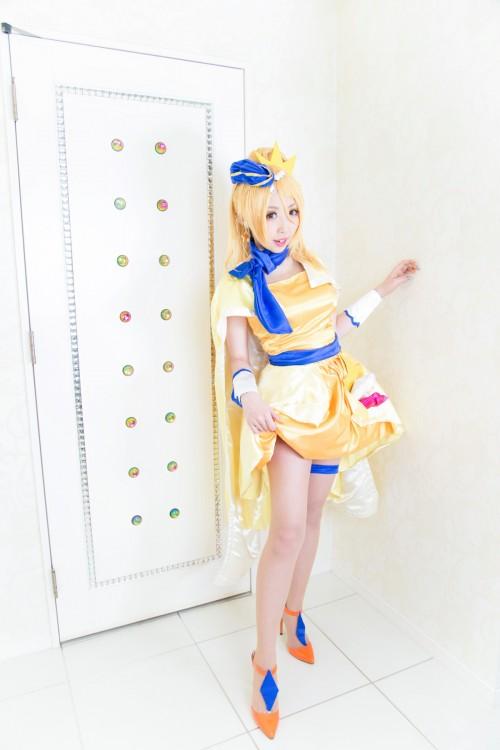 桃色れく光之美少女主题 COS 集『[Momoiru Reku] NRUっと!ももキュア』