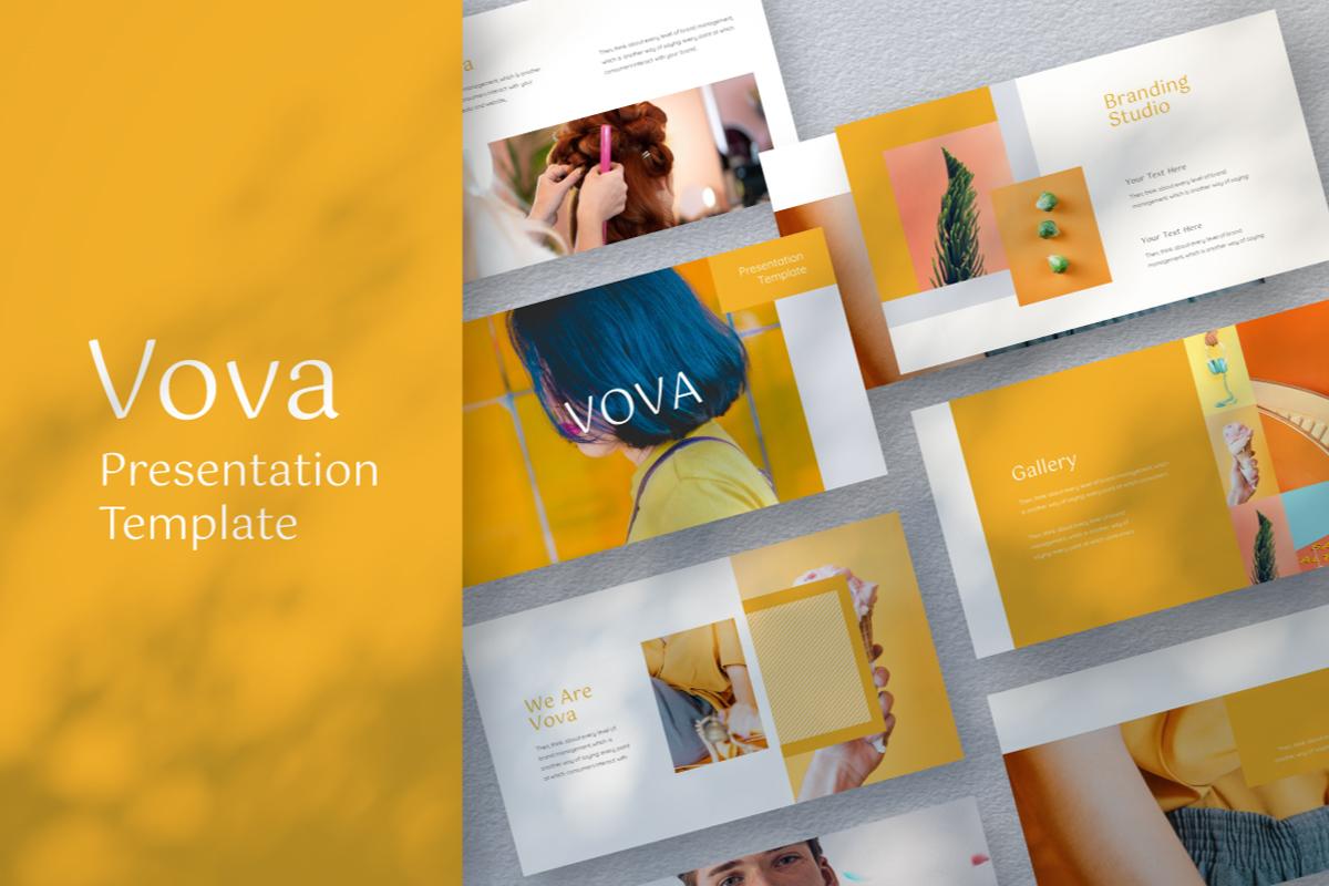 kPveC8 - Vova 展示PPT演示模板