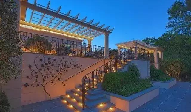 公园庭院灯光照明设计的原则
