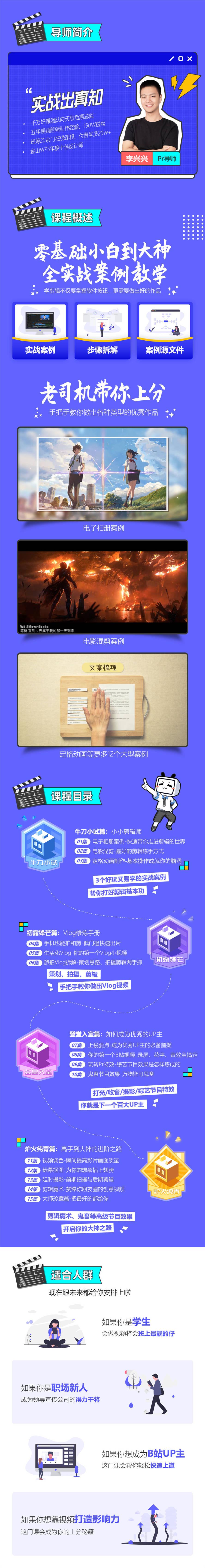 李兴兴PR剪辑上分攻略15课