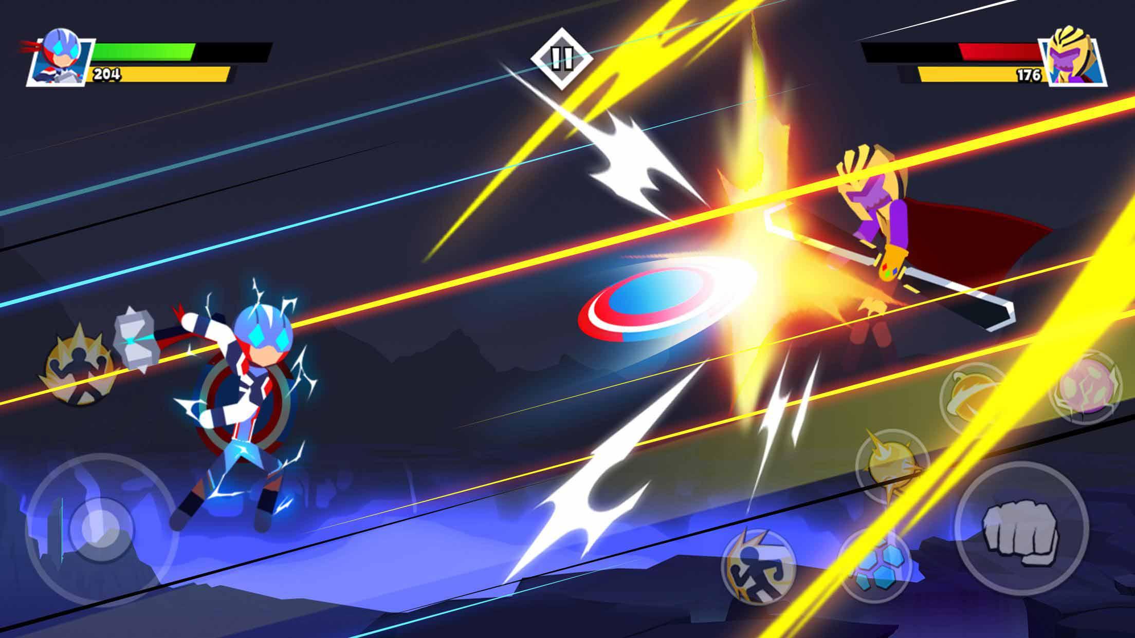 火柴人:超级英雄/修改大量金币、钻石