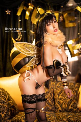 resize TIFA HONEY BEE Hana Ame 雨波 COSPLAY (3)